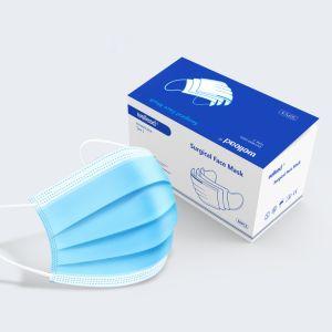 Médicos desechables mascarilla quirúrgica ce, de Protección Médica Oreja Loop & Tie en máscara facial, mascarilla 3 capas, Lista blanca