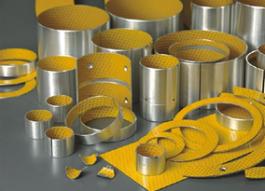 Los casquillos de teflón de lubricación límite envuelto rodamientos rodamientos de deslizamiento forrado de Acetal conos miel Coussinets Graphites Industrie Coussinets Catálogo