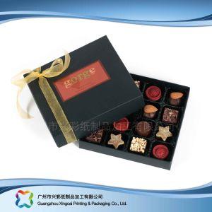 Regalo de San Valentín de lujo joyas/// caja de embalaje de Dulces de Chocolate (XC-FBC-030)