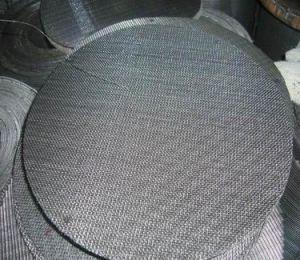 Фильтр 40 меш диска черный провод тканью для воздуха и жидкости фильтра