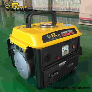 El valor de 650W de potencia monofásica pequeño generador de gasolina
