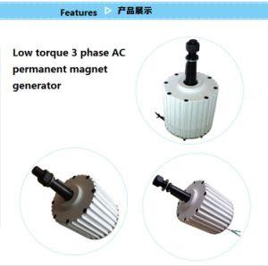 2kw 96V niedriger U/Min synchroner Dauermagnetgenerator Wechselstrom-für Verkauf (SHJ-NEG2000)