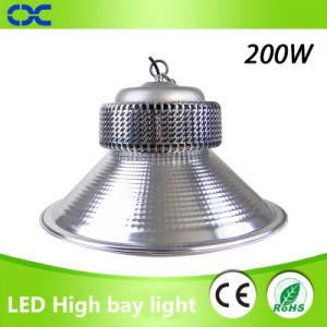 LED de alta potencia iluminación industrial LED 200W de luz de la Bahía de alta
