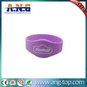 Braccialetto impermeabile promozionale del silicone di vendita calda RFID