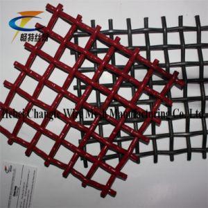 Aço de alto carbono frisada Tecidos de malha de arame / vibrando em malha de tela / tela de Mineração Mesh