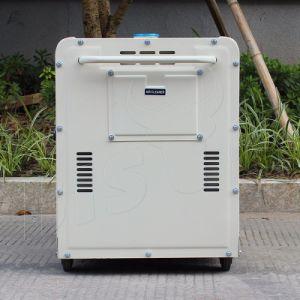 Prezzo diesel raffreddato ad aria portatile silenzioso eccellente del generatore del generatore del bisonte (Cina) BS6500dse 5kw 5kVA di inizio diesel di Electirc in India