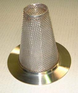 Filtro dal cono della rete metallica dell'acciaio inossidabile