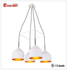 Novo design moderno da superfície de vidro pendente de LED de luz interior