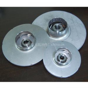 Water Pumps 105のためのステンレス製のSteel Stamping Impellers Used