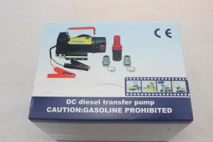 12/24V DC 휴대용 Biodiesel 등유 Pumpcast 소형 각자 프라이밍 연료유 디젤 엔진 이동 펌프 150W 30L/Min 분배기