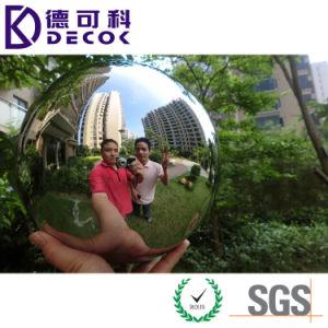 La bola de acero inoxidable 304 para el metal decorativo exterior Fuente de agua