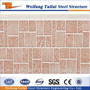 Structure légère en acier Maison préfabriquée mur matériel panneau décoratif
