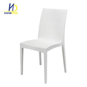 b173cb4f Cheap exterior apilable de Plástico Imitación silla de jardín de mimbre
