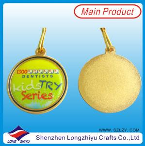 Medaglia dell'epossidico della medaglia placcata oro lucido con il prezzo di fabbrica