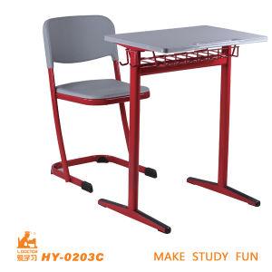 調査の鋼鉄流行の学校の現代家具の机および椅子