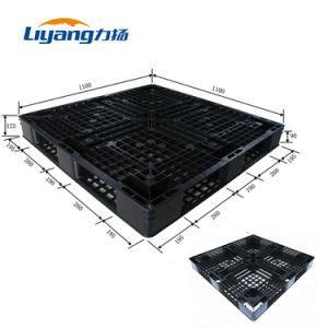 Durável com diferentes tamanhos grandes de HDPE coloridos para a logística de paletes plásticos
