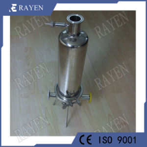 Membrane en acier inoxydable de l'eau du boîtier de filtre de la cartouche