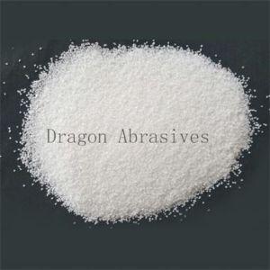 白い溶かされたアルミナ、屑のサイズ