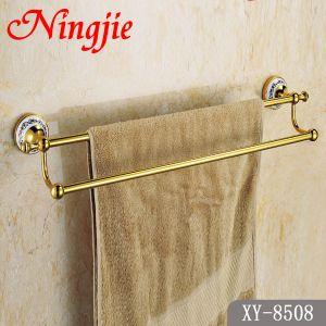 De sanitaire Staaf van de Handdoek van de Kleur van Waren Gouden Dubbele (8508)
