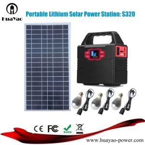 Powerstation solar portátil Batería de litio de 100W con panel solar