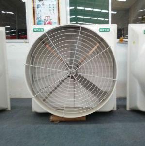 Ventilator van de Kegel FRP van de Ventilator van de Uitlaat van de Ventilatie van de glasvezel de Directe Gedreven