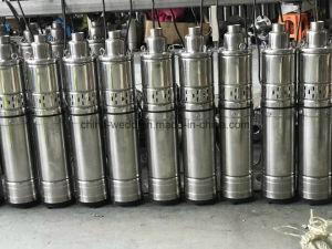 versenkbare Wasser-Pumpe des Edelstahl-4qgd1.5-120-1.1