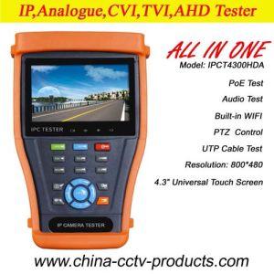 4.3 дюйма тестер для CCTV для Ahd, TVI, Cvi камеры (IPCT4300HDA)