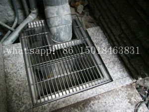 Proveedor de rejilla de acero inoxidable negro Carport