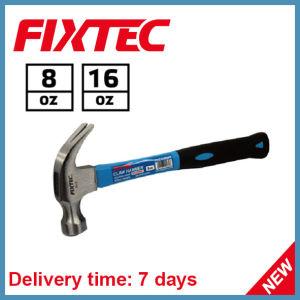 La mano del martello di Fixtec lavora il mini martello da carpentiere 8oz (FHCH20008)