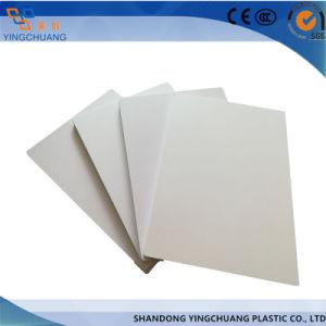 La junta de espuma de PVC blanco de espuma de plástico de PVC hojas (1220x2440mm, 2050x3050mm)