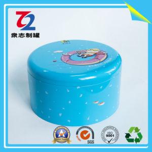 De ronde Doos van het Tin voor de Verpakkende Doos van de Gift, het Tin van het Metaal