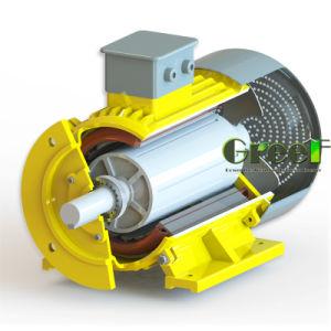 100 квт 250 об/мин магнитного генератора, 3 фазы AC постоянного магнитного генератора, использование водных ресурсов ветра с низкой частотой вращения