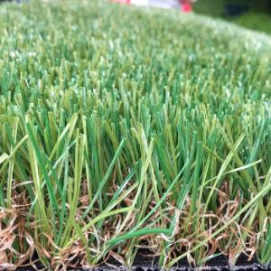 35mm 18900 조밀도 Leov105 반대로 UV 고품질 조경 인공적인 합성 잔디