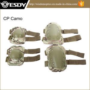 Открытый регулируемый Airsoft тактических защитные колена + колено тормозных колодок