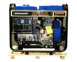 7KW uso residencial do conjunto de geradores a diesel pequenos KAIAO Estilo Kipor Gerador