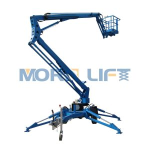 10~18m Hydraulic Artuculated Diesel Engine or Electric Power Boom Lift