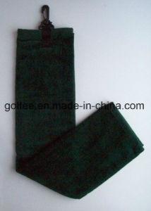 Katoen/Microfiber met de Handdoek van het Golf van de Haak en van de Ring