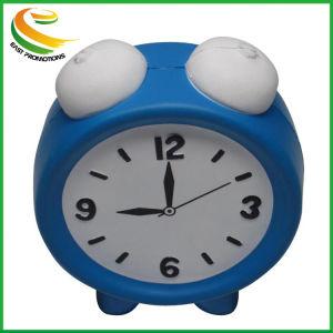 Formato de relógio de alarme personalizado PU Antistress Ball
