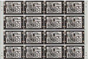 PCB de frente e verso, Placa de circuito de alta freqüência e baixo custo de fabricação de PCB PCB