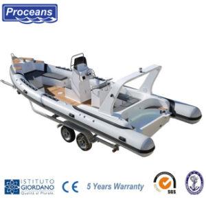 Ребра760 Ce сертифицирована ребра на лодке с 5 лет гарантии 2020 новый дизайн