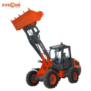 Marque Everun Ce approuvé chargeuse à roues Compact ER416h