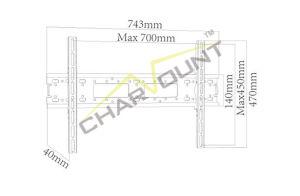 중국 도매 시장은 고쳤다 LCD/LED 텔레비젼 벽 마운트 (CT-PLB-712)를