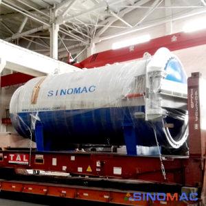 ASME에 의하여 증명되는 산업 박판으로 만드는 유리제 오토클레이브 기계장치