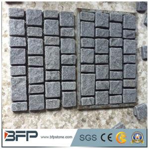 10X10X10 G654 Padangの暗い立方体の玉石の石