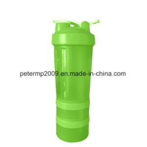 3容器600mlの大きい容量蛋白質のシェーカーのびんBPAは放す