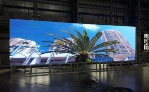 HD Venta caliente P10 Alquiler de Color interior de la pantalla LED para publicidad