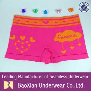 Las niñas ropa interior Boxer Boysshort OEM Bragas mujeres Señoras sexy ropa interior Dama calzoncillos lenceria Baoxian China Wholesale