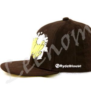 Snapback impressas borda plana Promotinal Fiftting Hat