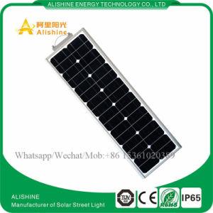 40W indicatore luminoso di via a energia solare di alta qualità LED con il prezzo competitivo