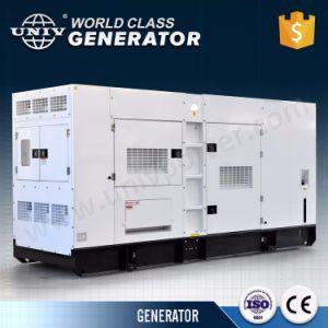 Des Univ Marken-China-Fabrik-Japan-Denyo super schalldichter Dieselgenerator Entwurfperkins-Motor-300kVA